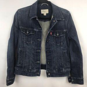 Levi's | Dark Wash Denim Trucker Jacket